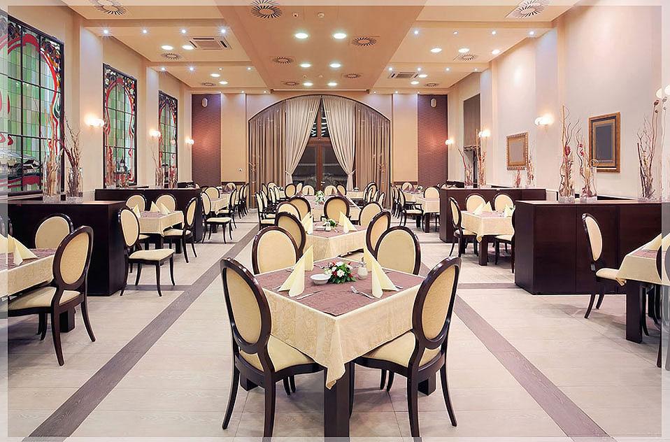 contoh desain interior restoran mewah