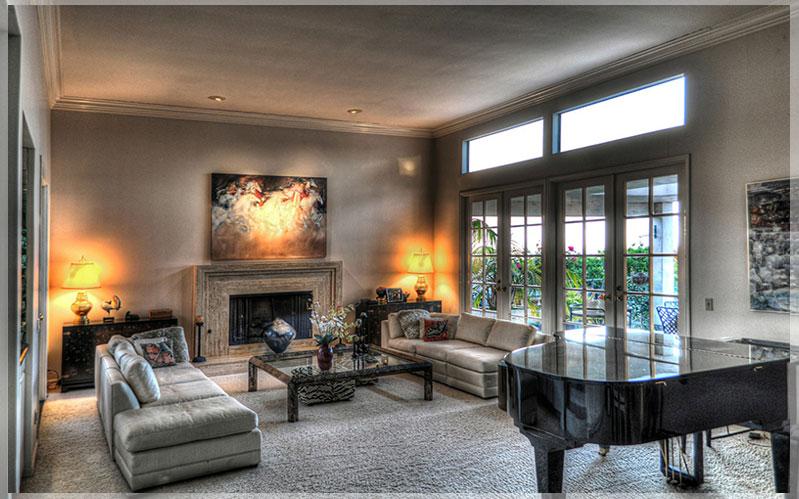 contoh desain interior ruang keluarga