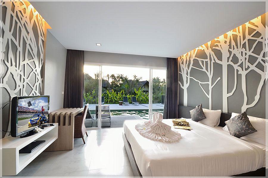 contoh desain kamar hotel minimalis