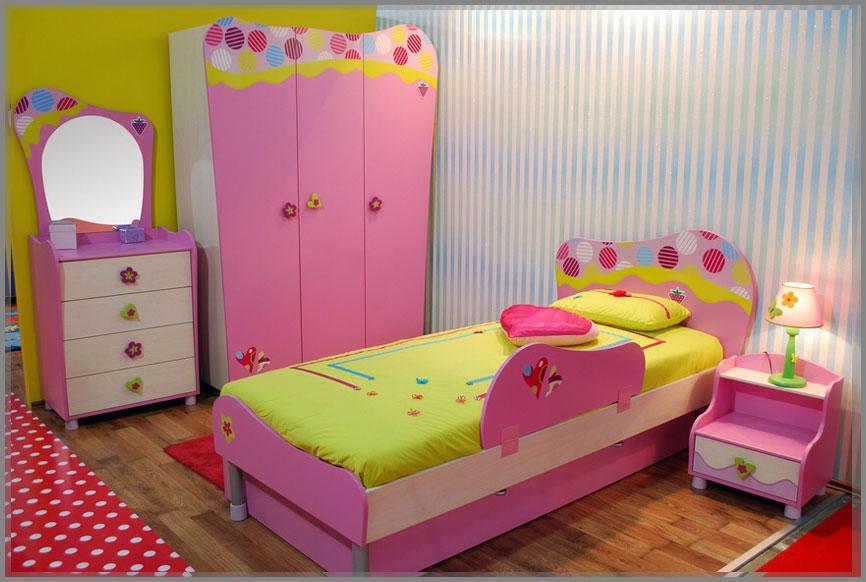 Desain Interior Kamar Tidur Anak Perempuan Dan Laki