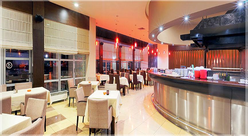 contoh desain restoran hotel