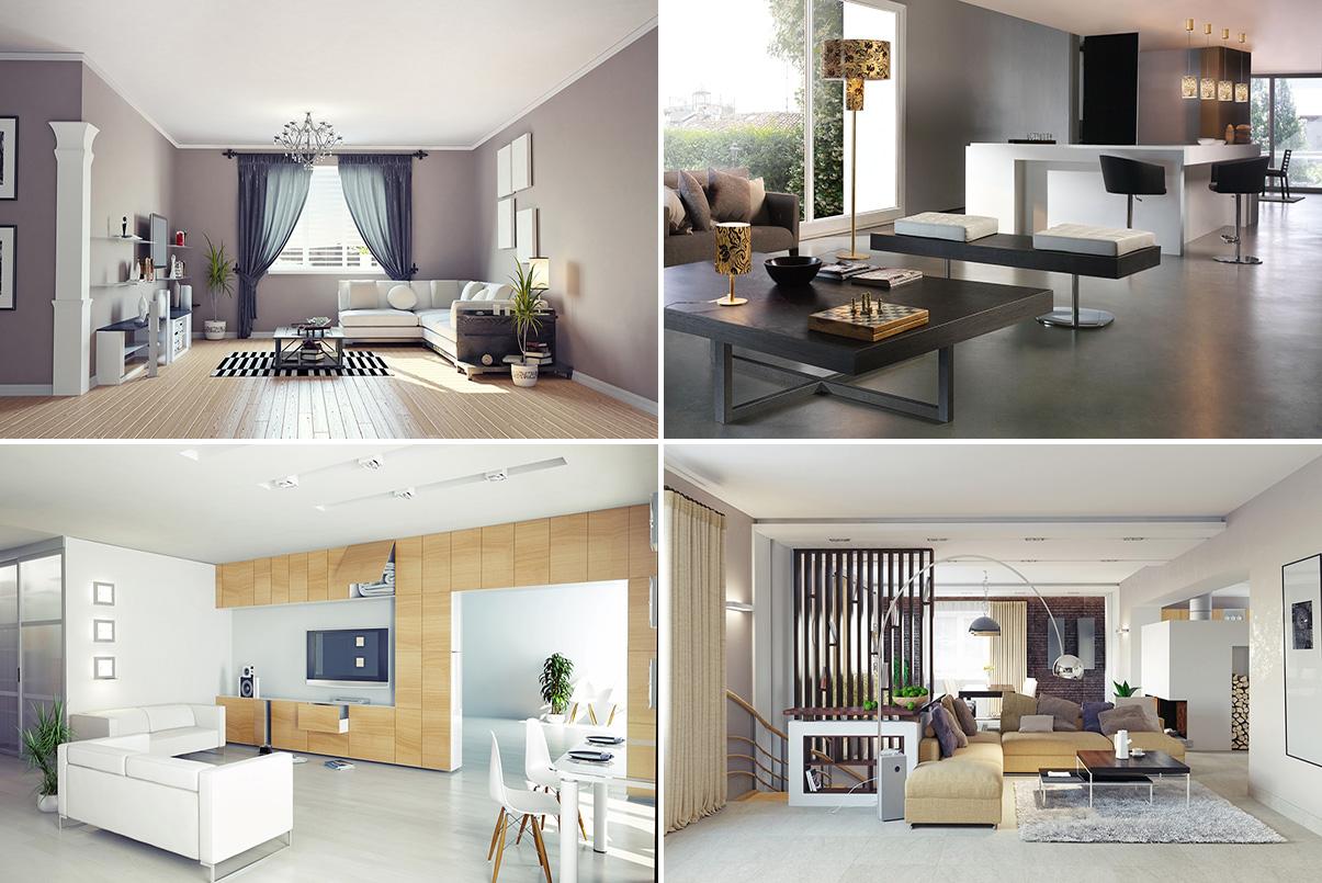 Desain Interior Ruang Keluarga Minimalis Sederhana - Jasa ...