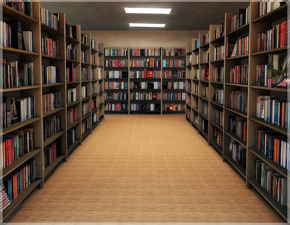 contoh design perpustakaan