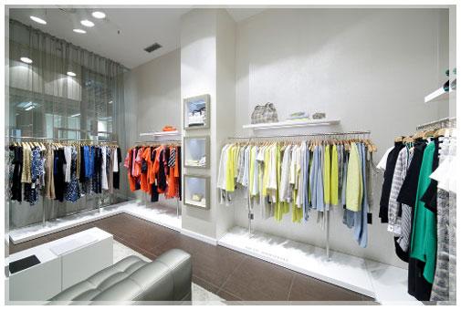 konsep desain interior distro minimalis sederhana dan unik