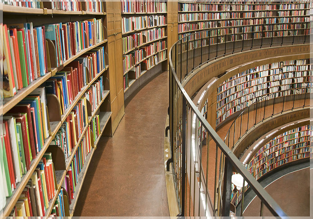 desain interior perpustakaan