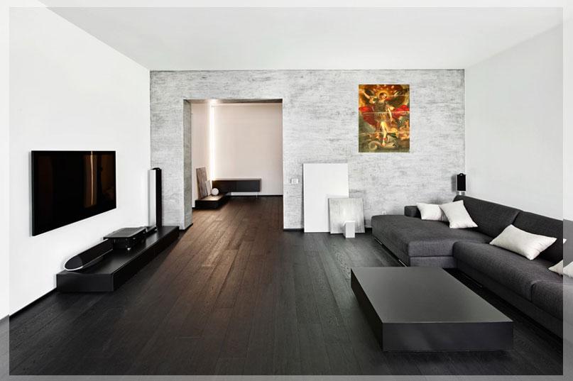 desain interior ruang tv minimalis