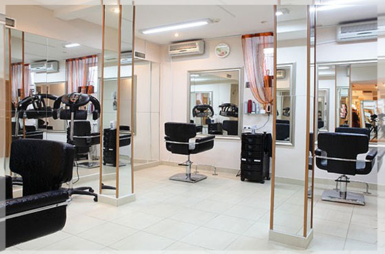 desain interior salon minimalis
