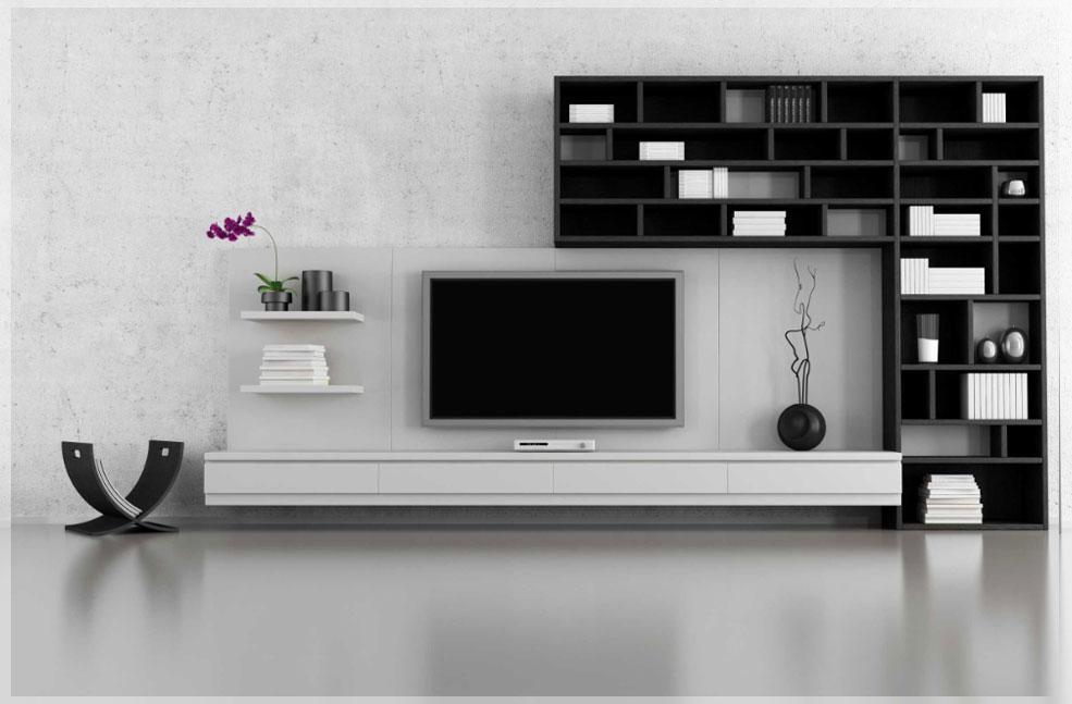 desain interior tempat tv