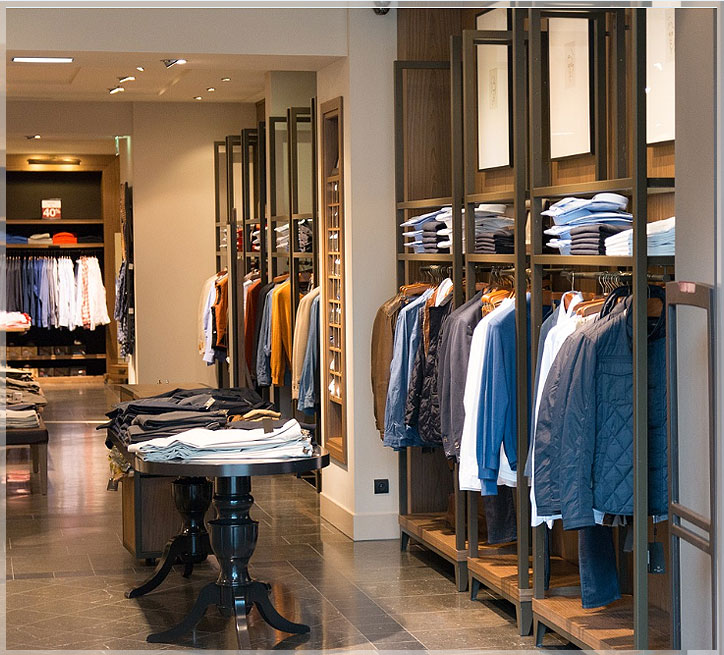 desain interior toko baju
