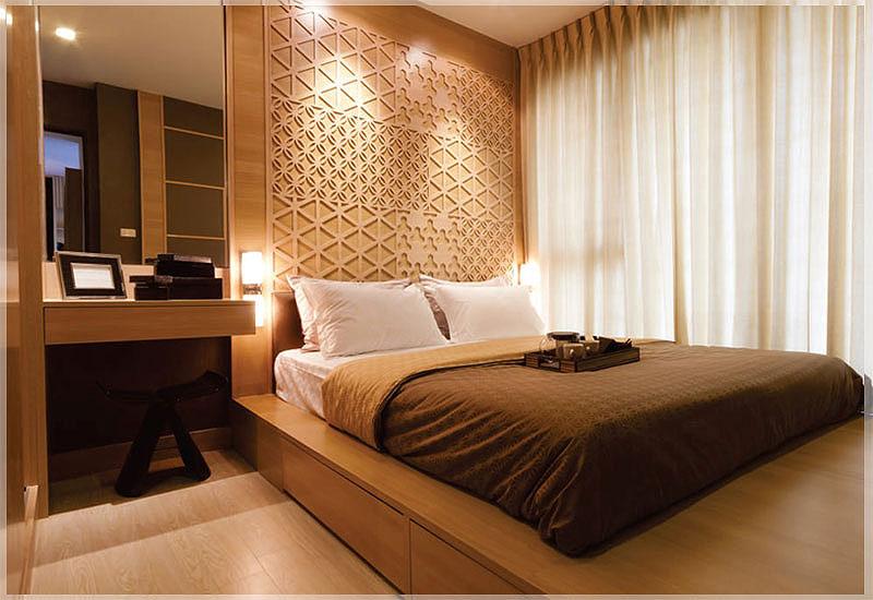 desain kamar tidur hotel sederhana