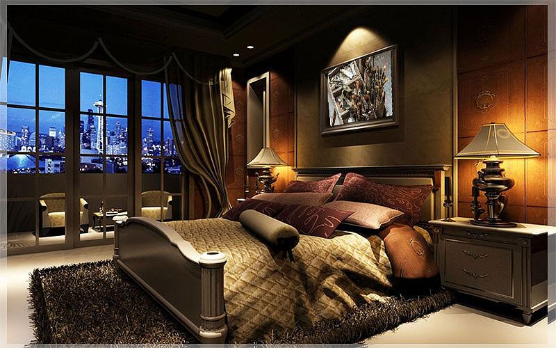 Desain Interior Kamar Tidur Hotel Minimalis Sederhana nan