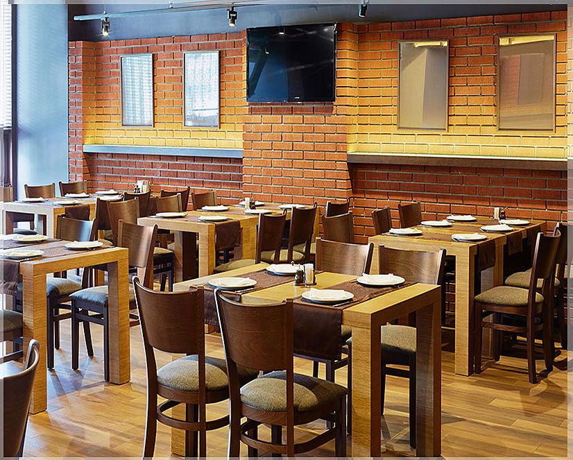 desain restoran sederhana