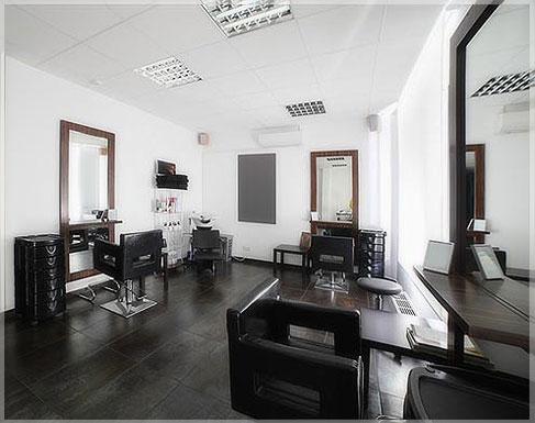 desain interior salon minimalis modern sederhana