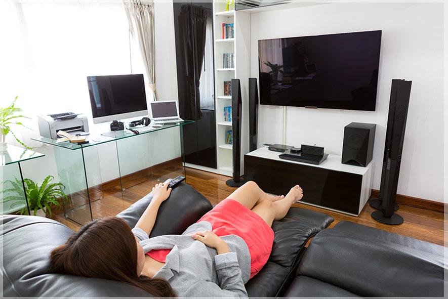 desain tempat tv