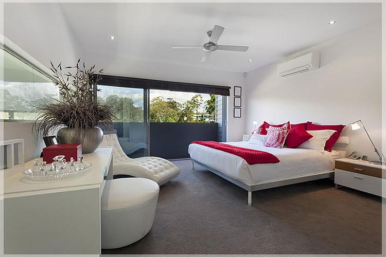 design interior kamar hotel modern