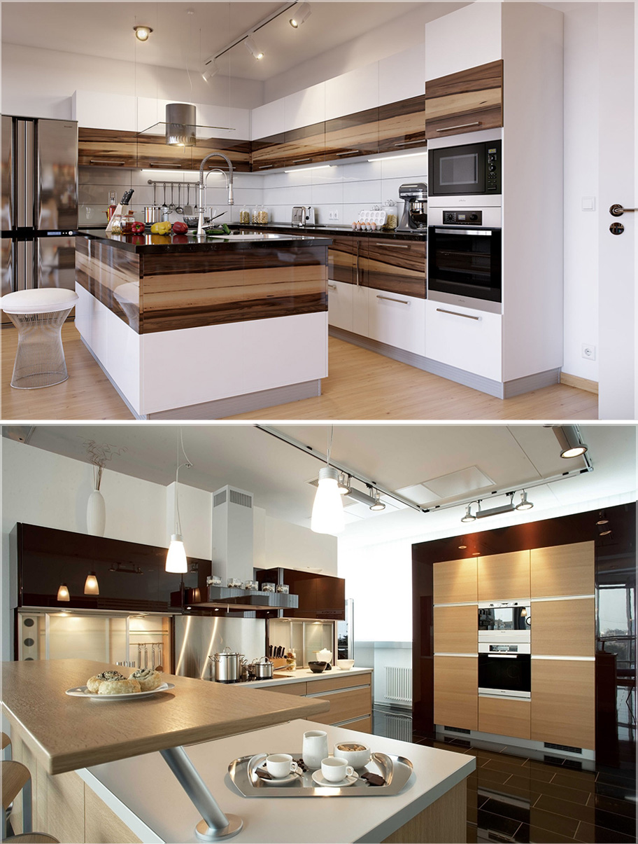 Design kitchen set modern nice modern kitchen furniture for Kitchen set 2015