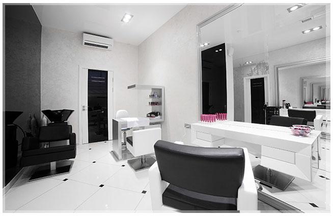 design interior pangkas rambut