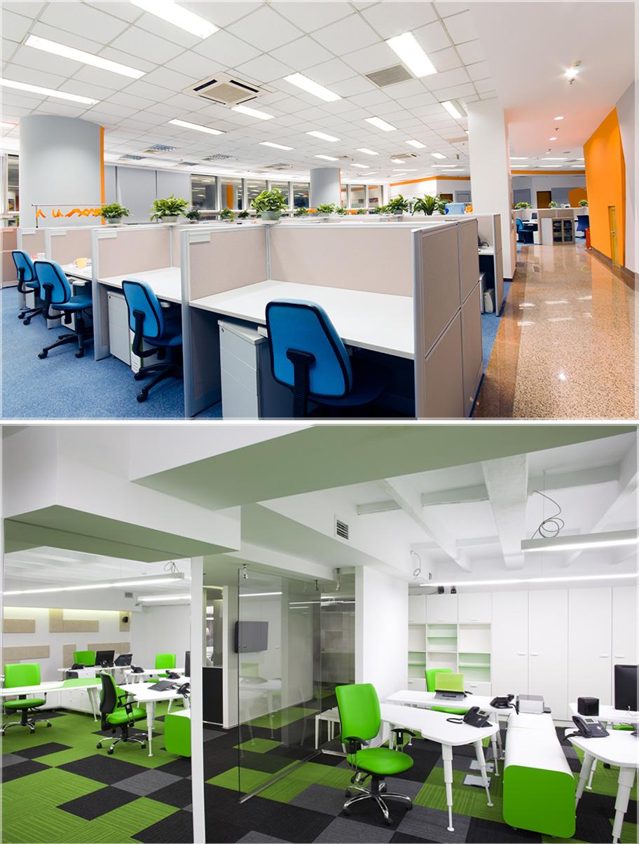 Desain interior kantor minimalis modern for Design interior modern minimalis