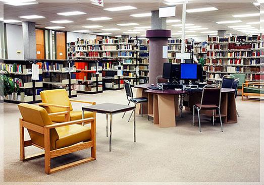 design perpustakaan umum