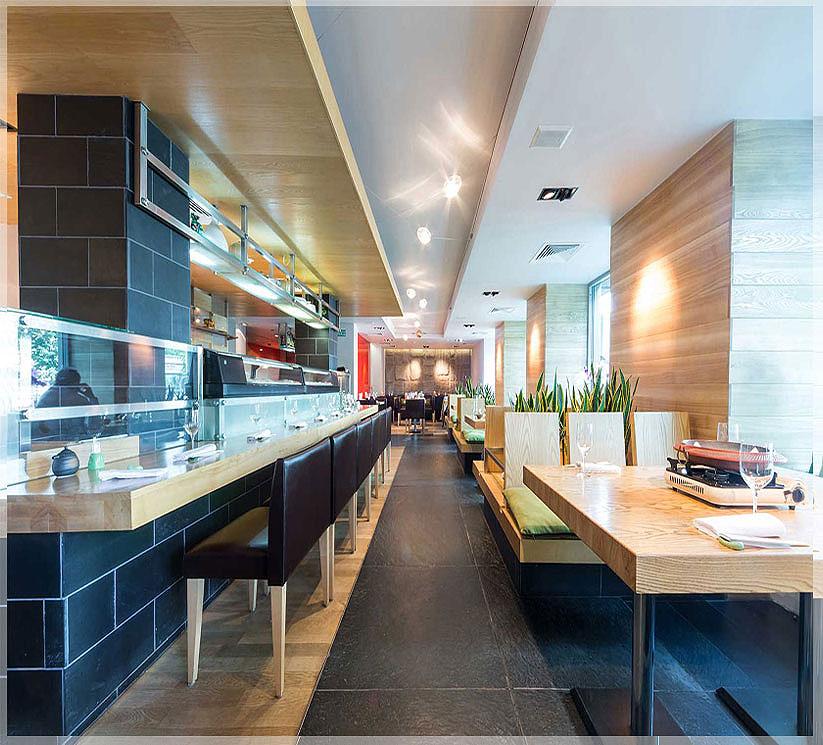 design restoran minimalis