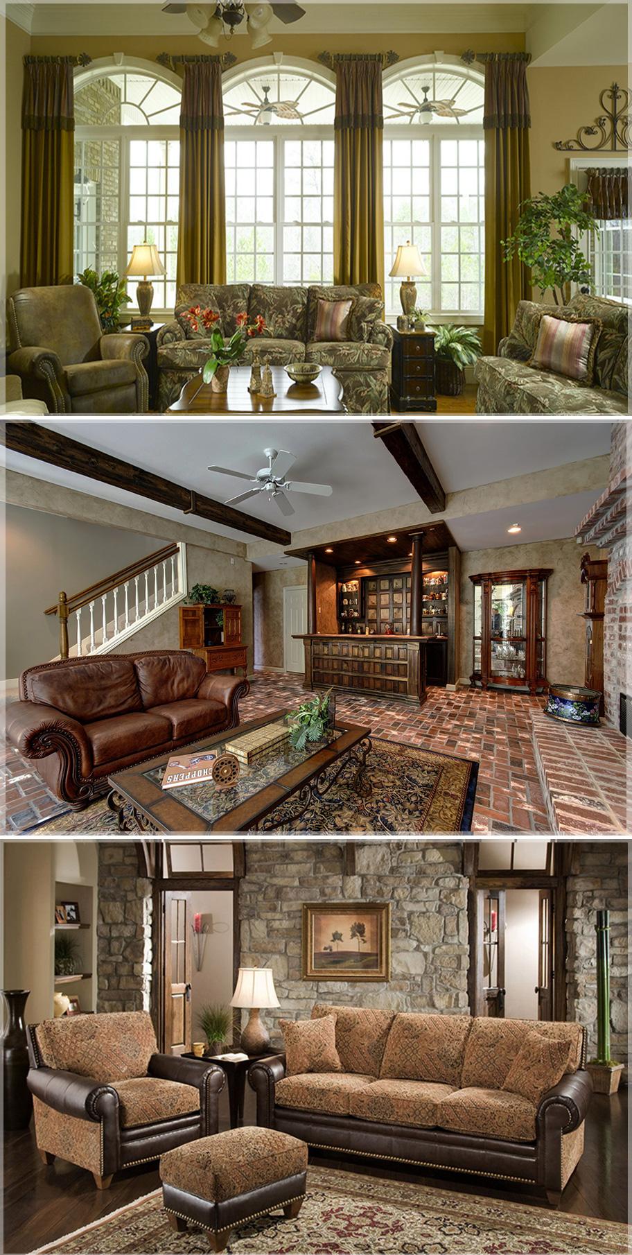 design-ruang-keluarga-klasik