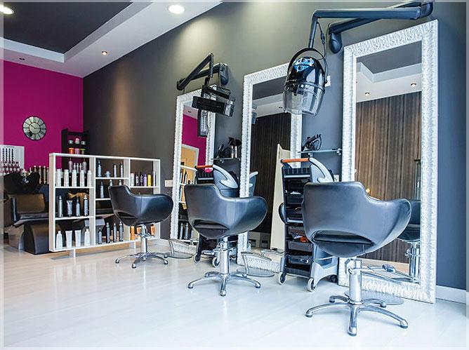 design salon minimalis