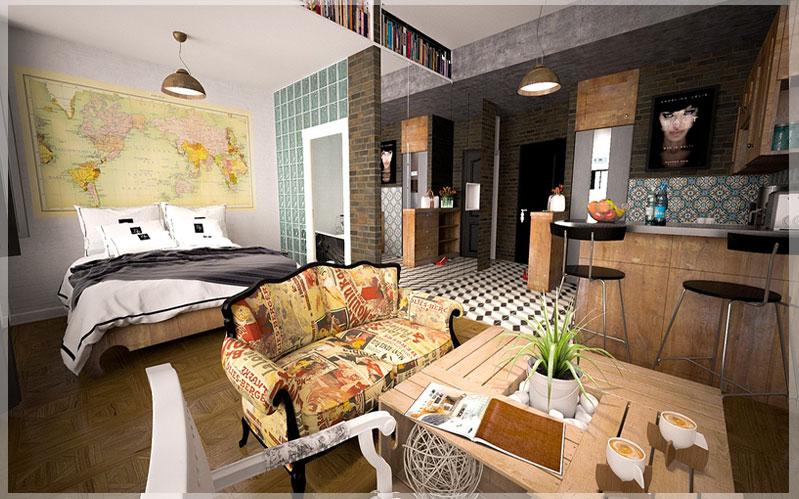 jasa desain interior apartement