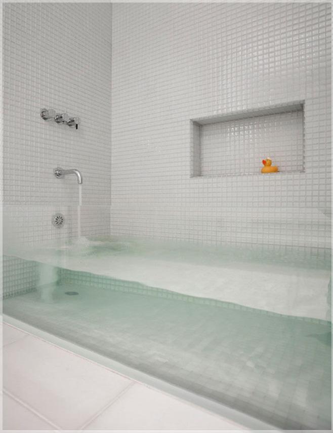 bak mandi transparan