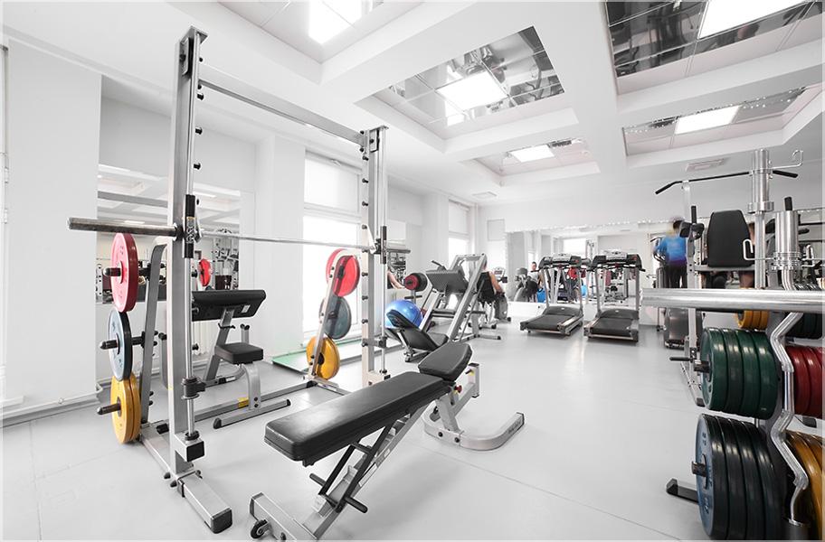 desain fitness center