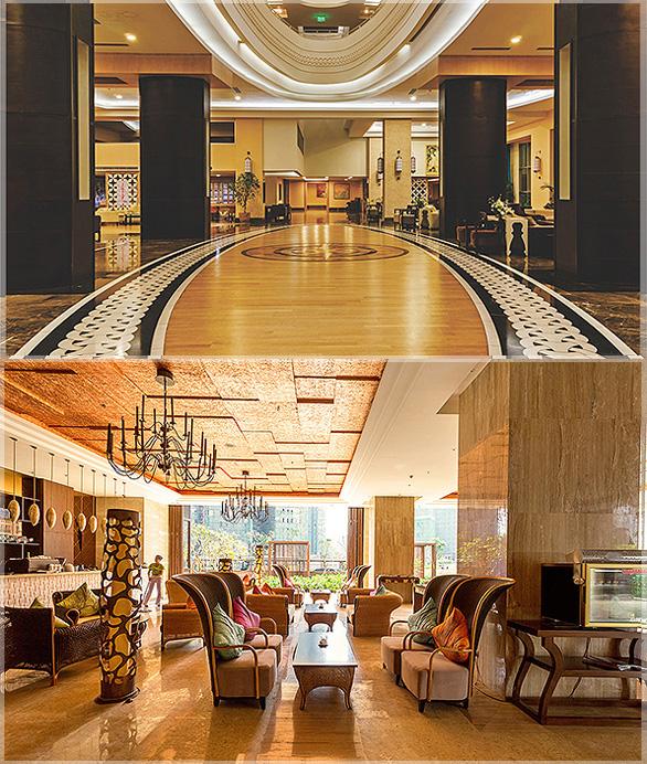 desain interior lobi hotel