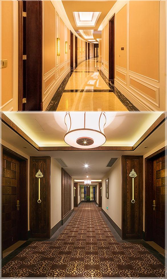 desain interior lorong hotel