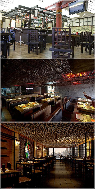 desain interior restoran jepang