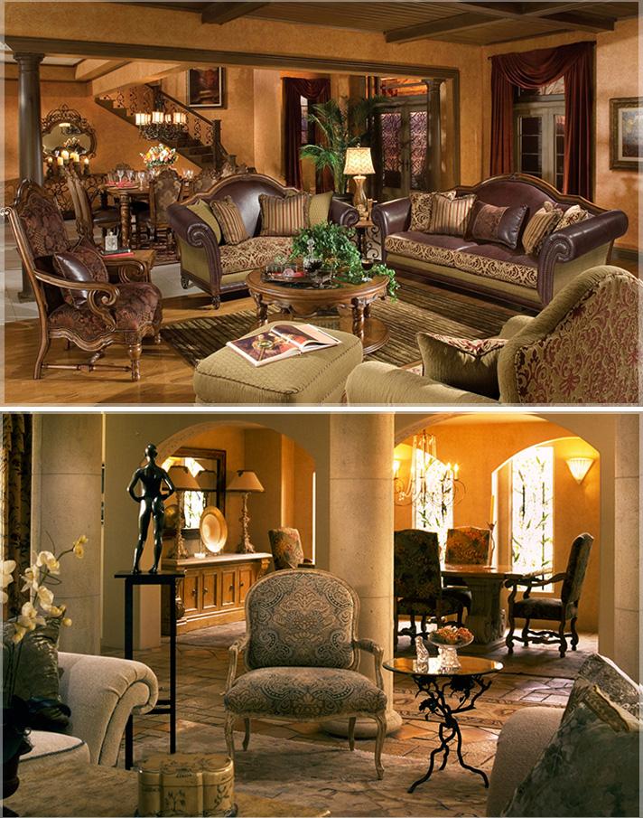 Desain Klasik Ruang Keluarga