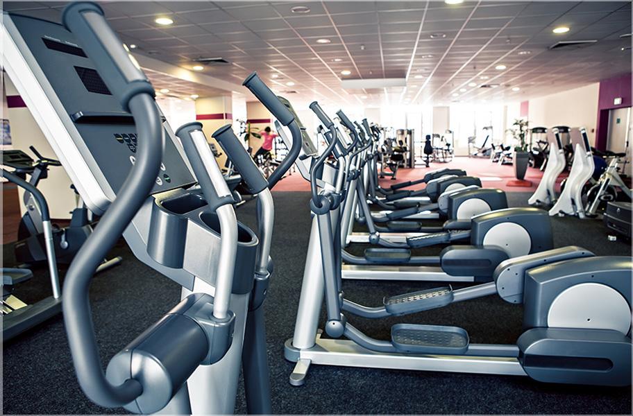 desain tempat fitness