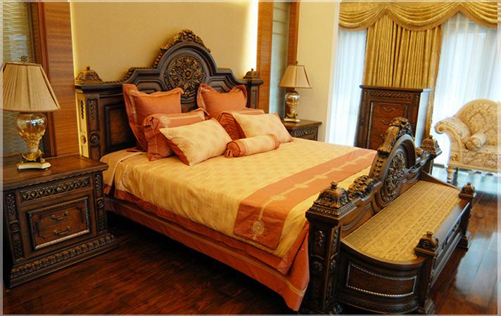 kamar-tidur-ranjang-klasik