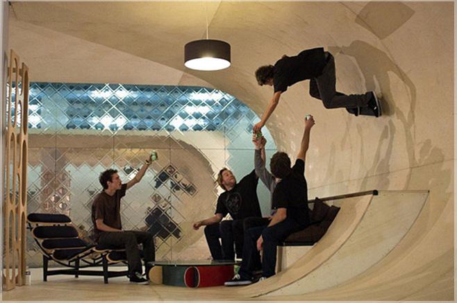 ruang konsep taman skate