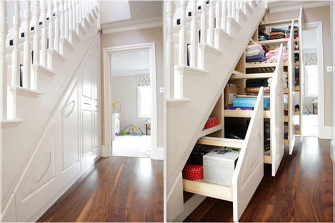 tempat simpan bawah tangga