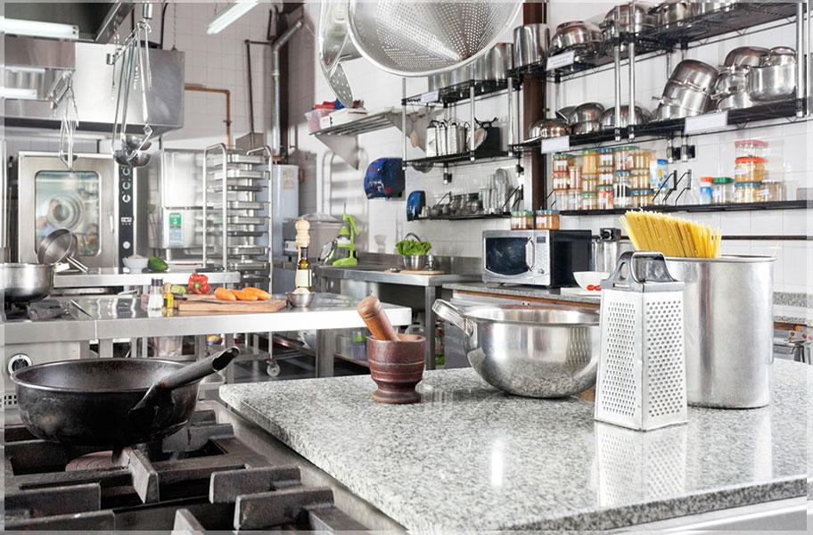 Contoh Desain Dapur Rumah Makan