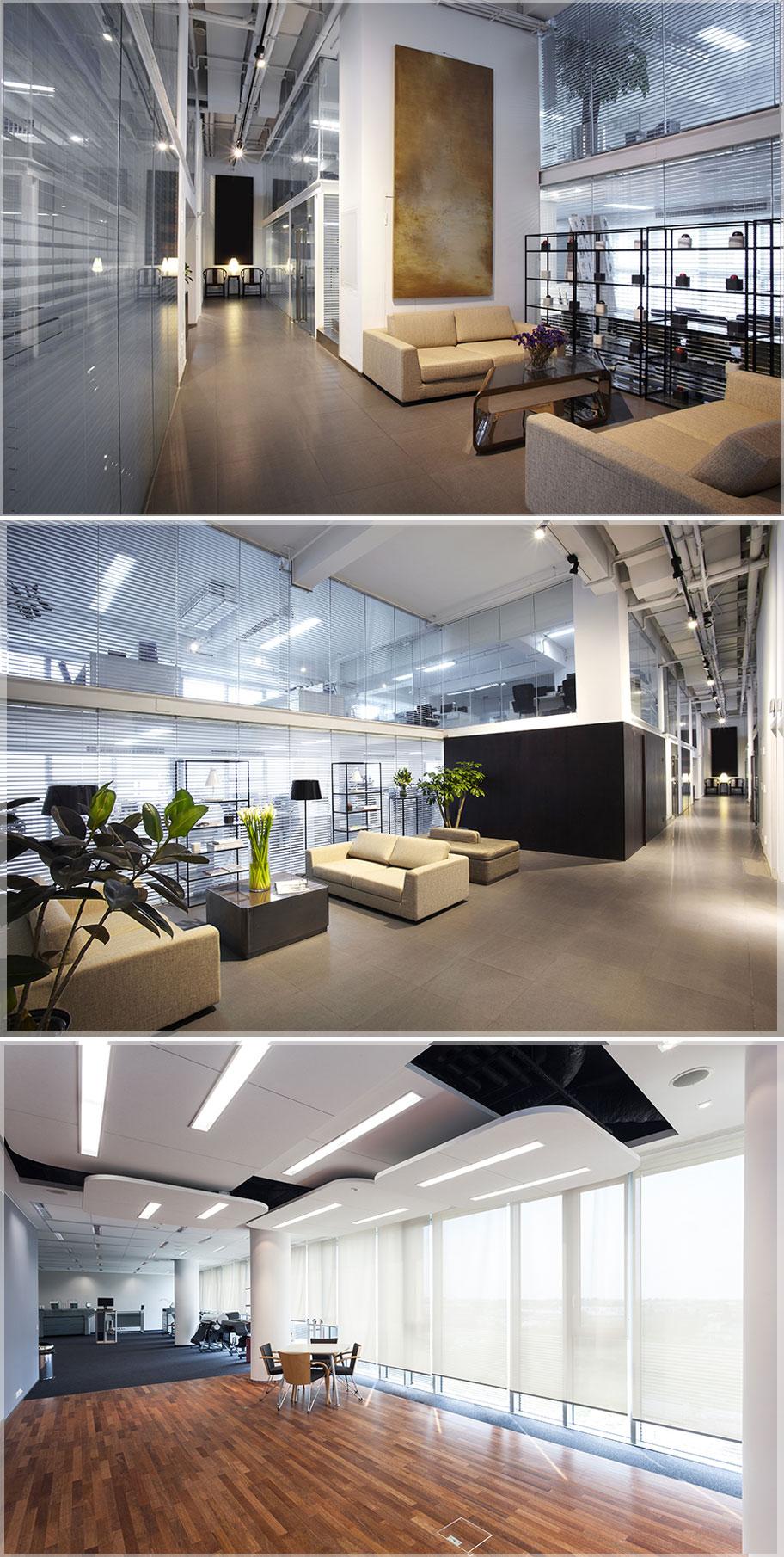 contoh desain interior kantor minimalis