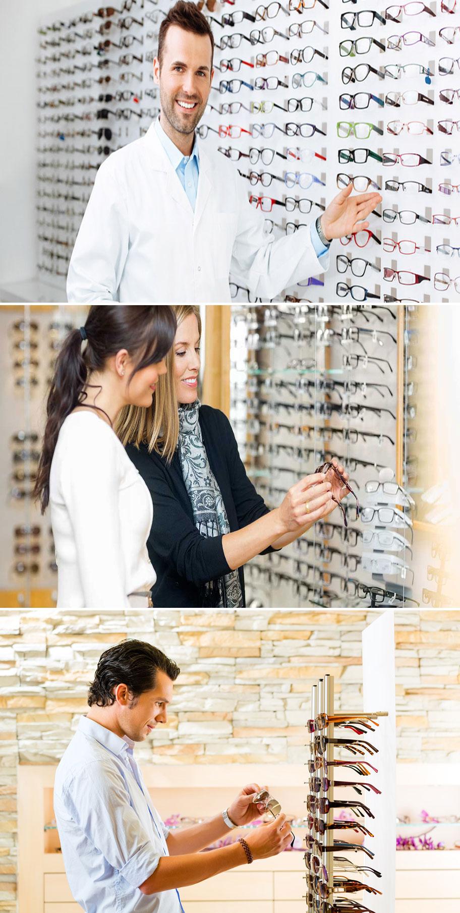 contoh toko kacamata