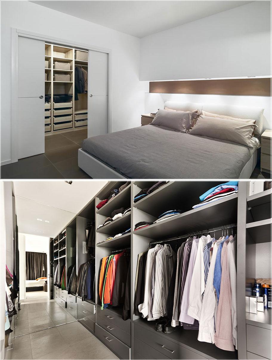 lemari baju modern