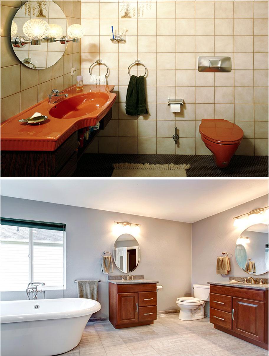 model kaca kamar mandi bulat