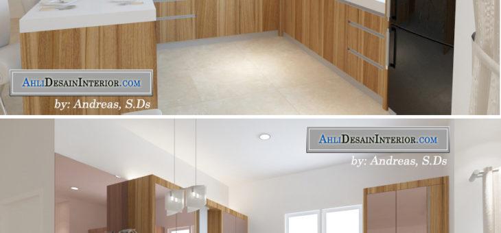 Jasa Pembuatan Kitchen Set Minimalis Modern Untuk Rumah dan Apartemen