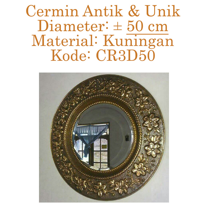 cermin hiasan dinding unik