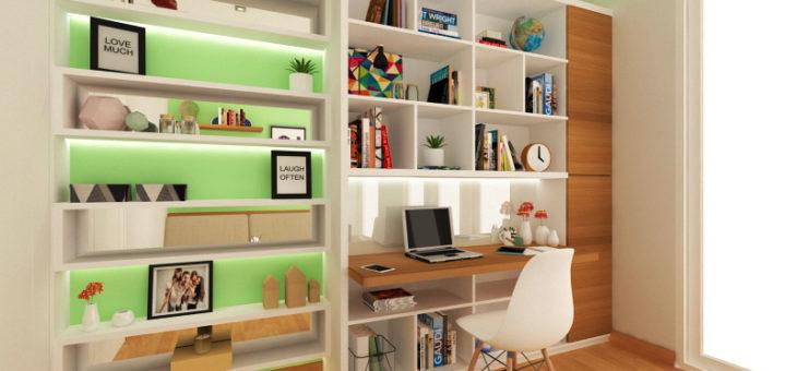 Tips Desain Kamar/ Ruang Belajar Minimalis Yang Nyaman