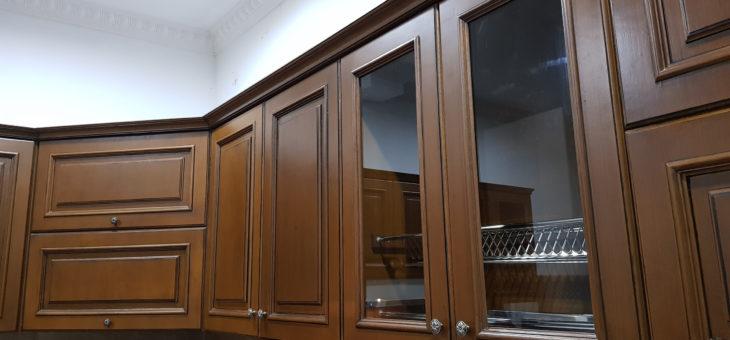 Kitchen Set Cat Melamik atau Melamin Untuk Dapur
