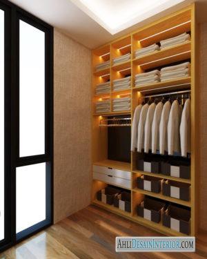 tips desain kamar tidur dengan walk in closet rumah