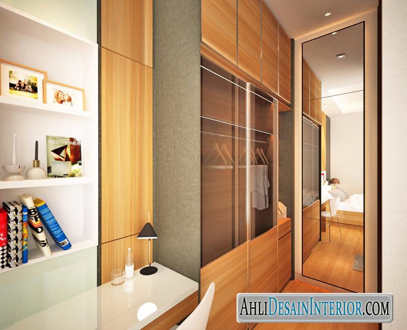 desain lemari walk in closet