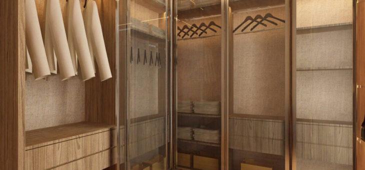 Tips Desain Kamar Tidur Dengan Walk In Closet Rumah Minimalis