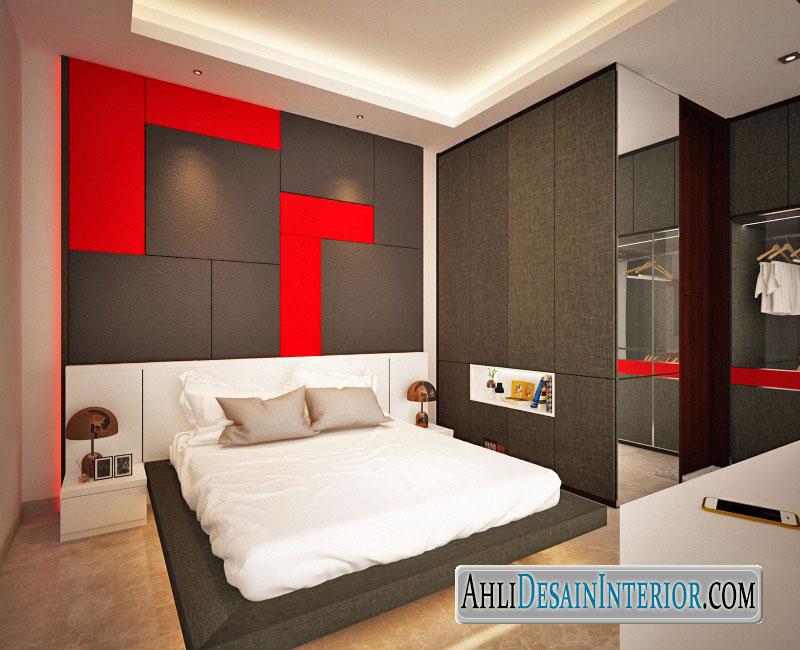desain kamar tidur di daan mogot